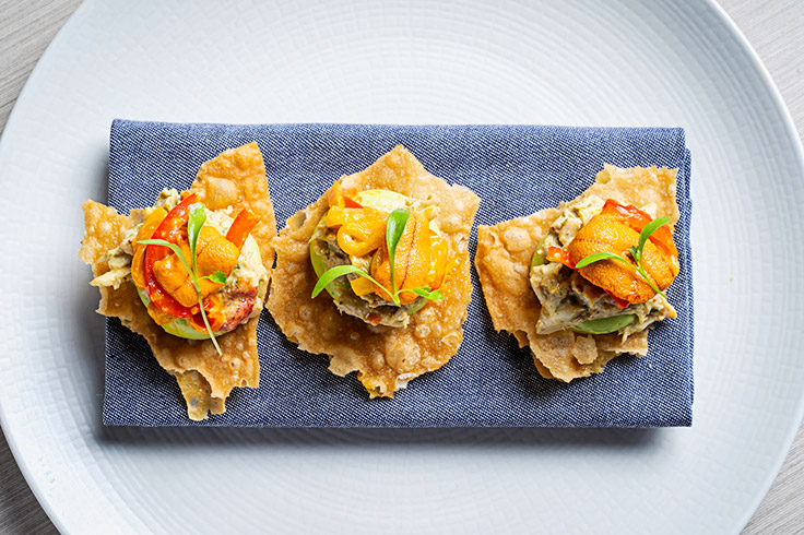 Uni escovitch at Kith and Kin. (Photo courtesy of InterContinental Washington, D.C.)
