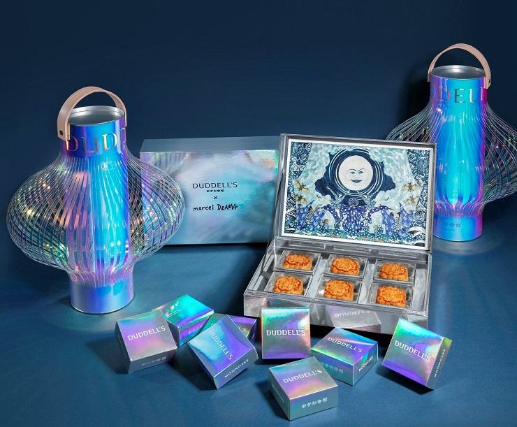 都爹利今年的月餅禮盒附送燈籠,藝術實用兼具。(圖片:都爹利會館)