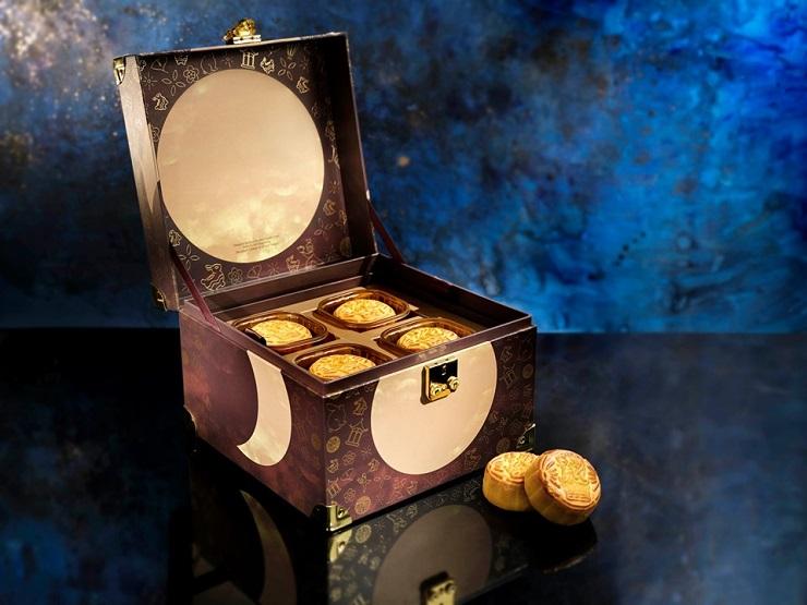 天龍軒今年的中秋禮盒找來薩凡納藝術設計大學合作,增添藝術感。(圖片:天龍軒)
