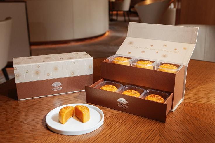 置地文華酒店的月餅盒用料環保,還兼具實用功能。(圖片:置地文華東方酒店)