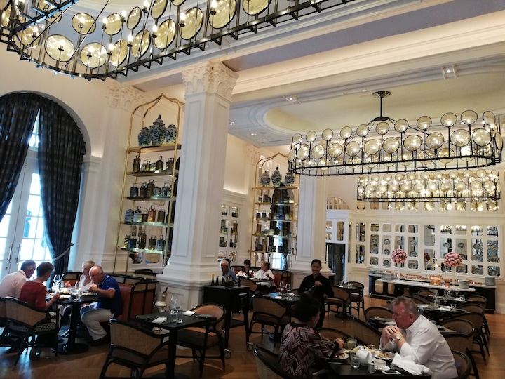 The century-old Indian restaurant Tiffin Room at Raffles Hotel Singapore has been given an elegant makeover and has an expanded menu. (Photo: Kenneth Goh)