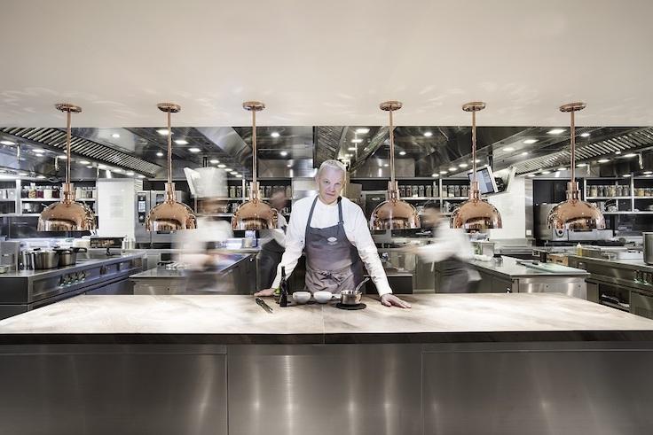 米芝蓮二星餐廳 Amber 大廚 Richard Ekkebus 近來使用更多日本食材。(圖片:Amber)