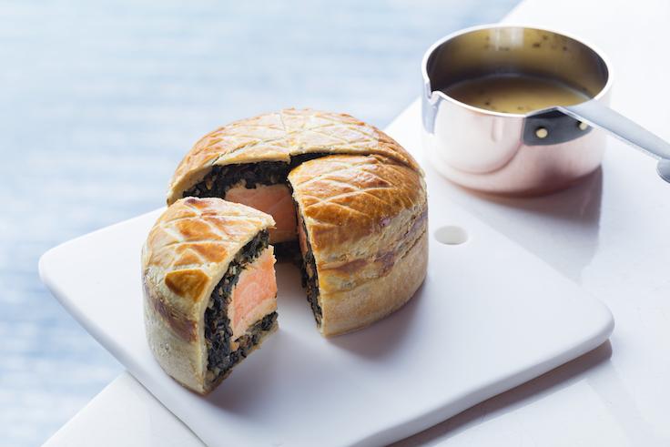酥皮焗三文魚批