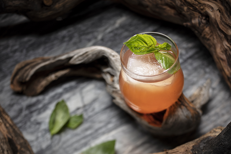 名為「Thai-phoon is coming」的雞尾酒