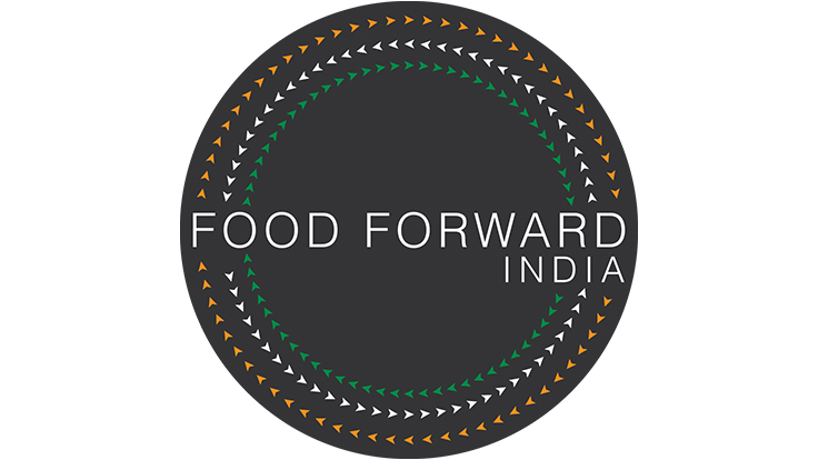 Official logo of the not-for-profit initiative Food Forward India.
