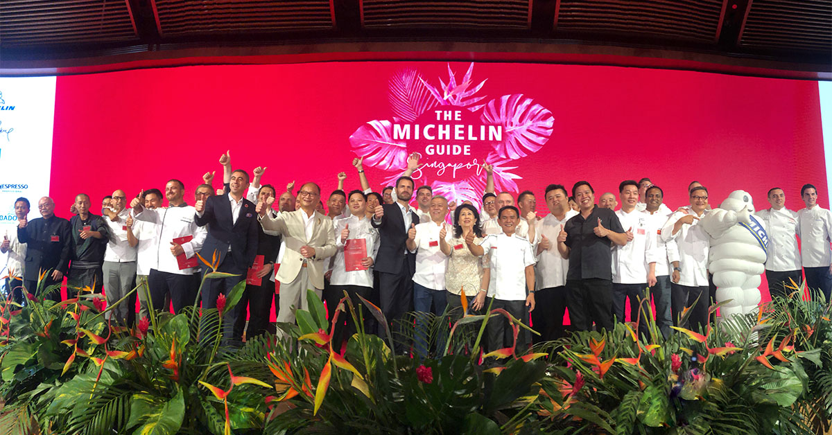 As a finale, the chefs took to the stage in celebration of their achievements.