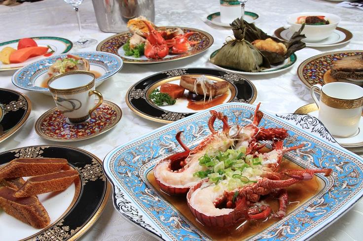台南担仔麵被稱作台式高檔海鮮餐廳的始祖食材,(照片:台南担仔麵提供)