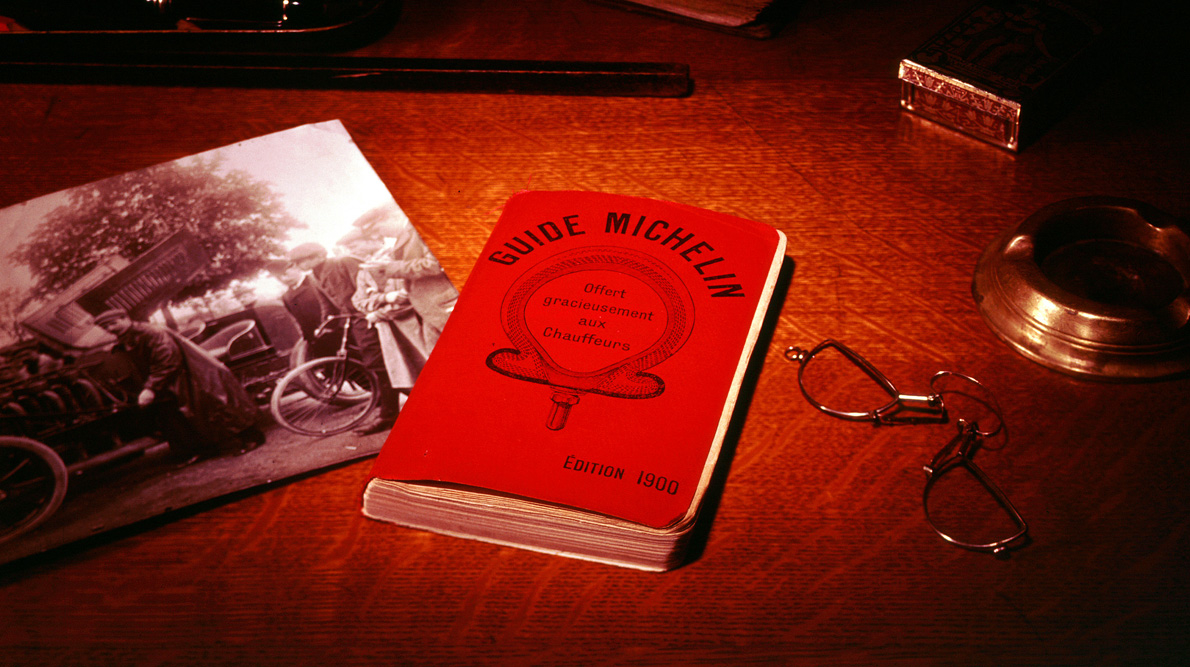 Michelin guide - content marketing example