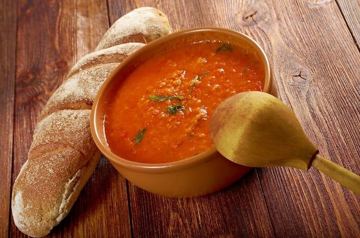 托斯卡尼的著名料理麵包湯 Pappa al pomodoro。(圖片:Shutterstock)