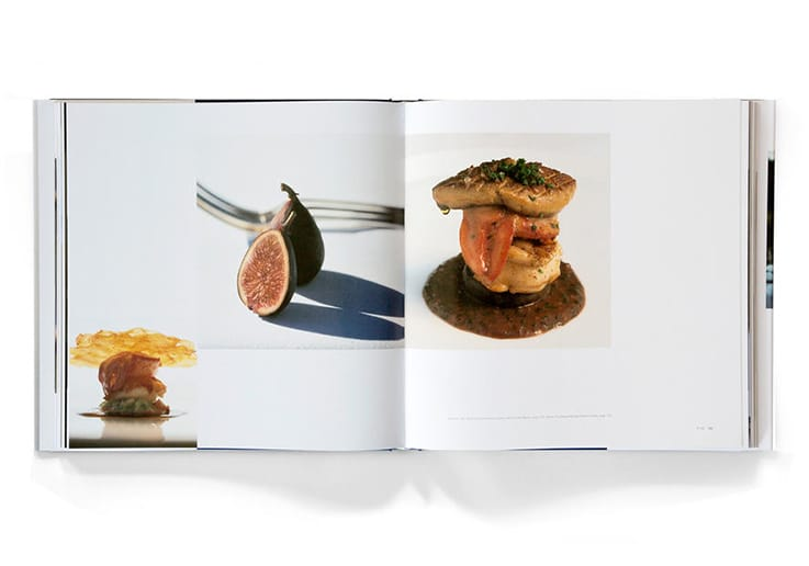 A peek inside The French Laundry cookbook. (Photo courtesy of Thomas Keller.)
