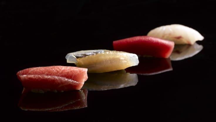 Nigiri sushi (Pic: Shoukouwa)