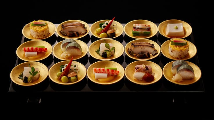 Kashiwaya in Osaka celebrates its 10th year as a three-starred restaurant (Pic: Kashiwaya website)