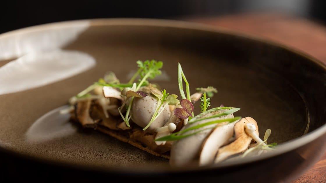 Bouleau Mushroom & Smoked Foie Gras (Pic: JAG)