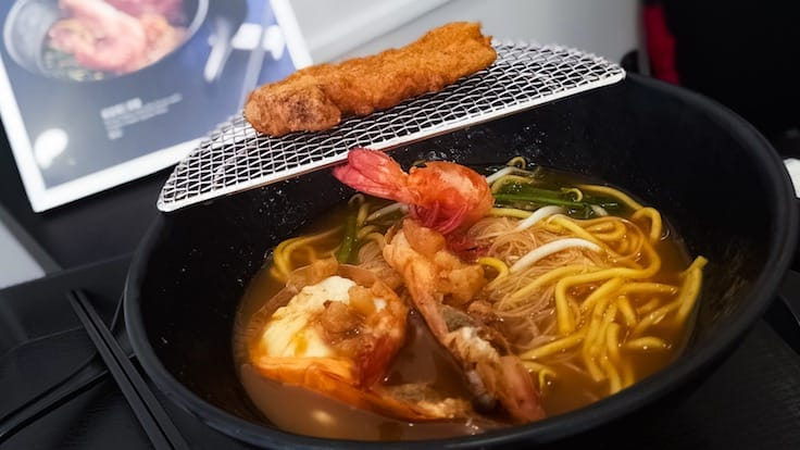 King Prawn Noodle Soup With Prawn Paste Spare Ribs (Pic and Banner Pic: MICHELIN Guide Digital)
