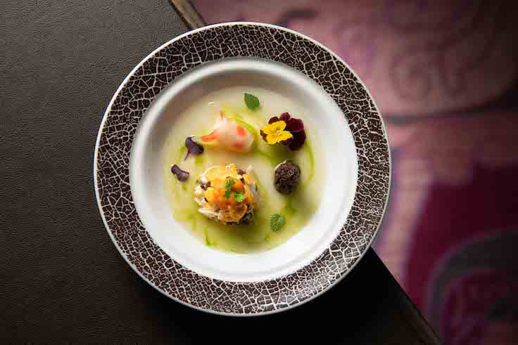 Chef Wong Wing Keung's Mini Goldfish Dumpling will be on the 4-hands tasting menu (Pic: Mandarin Oriental, Hong Kong)by chef Wong Wing Keung (Pic: Mandarin Oriental, Hong Kong)