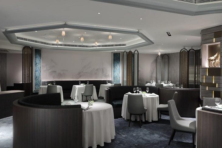 天香樓的室內設計融合西湖十景與現代元素。(圖片:天香樓提供)