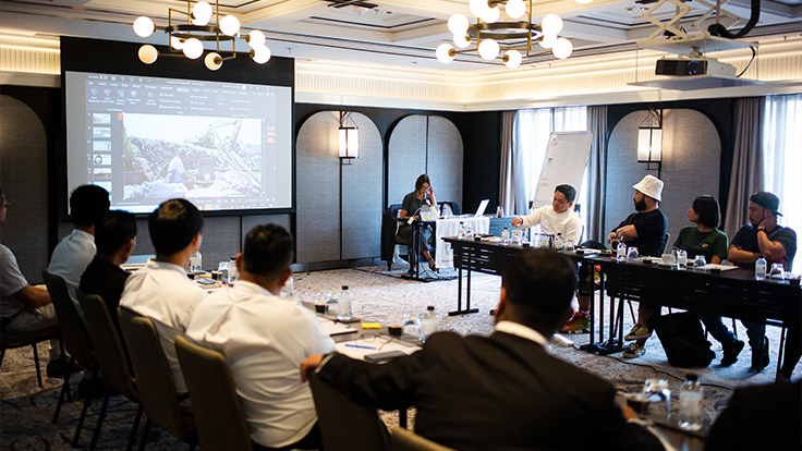 A training session took place in October at Marriott Bangkok Hotel The Surawongse to train the chefs and kitchen staff involved in the upcoming MICHELIN Star Revelation Thailand 2020.
