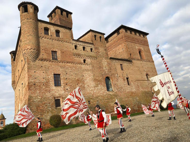 Castello de Grinzane in Alba, Piedmont, the annual host venue of the World Alba White Truffle Auction. (Pic: Beppe De Vito)