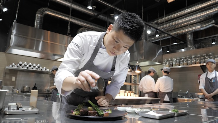 In 2017, Park returned to Seoul and opened Muoki (Pic: MICHELIN Guide Digital)