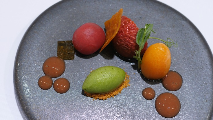 Muoki's Tomatoes Seven Ways (Pic: MICHELIN Guide Digital)