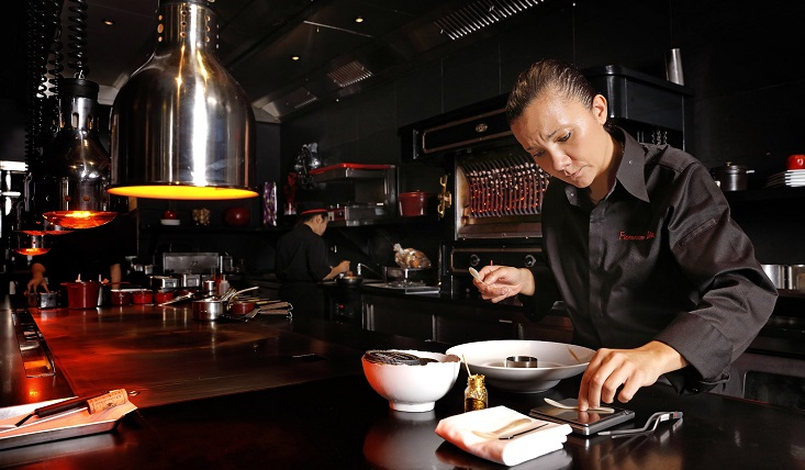 Florence Dalia has taken over the reins at L'Atelier de Joël Robuchon Taipei from chef Olivier Jean.