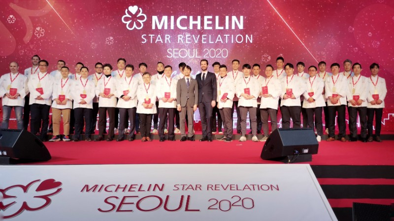 The fourth edition of the MICHELIN Guide Seoul recognized a total of 31 starred restaurants.