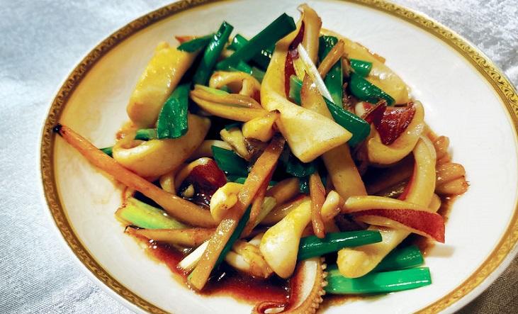 田園海鮮不設菜單,看當日時令海鮮出菜。(圖片:米其林指南網站)