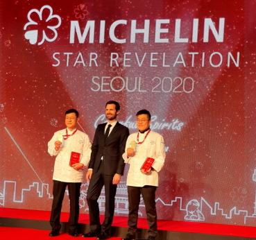 3 Stars chef  라연 김성일(Kim, Seong-Il / LA YEON), 가온 김병진(Kim, Byeong-Jin / GAON)