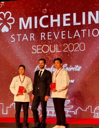 New 2 Stars Chef 임프레션 서현민 (Seo,Hyeon-Min / L'IMPRESSION), 모수 안성재 (Ahn,Sung-Jae / MOSU)