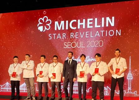 7인의 New 1 Star Chef_미쉐린 가이드 서울 2020