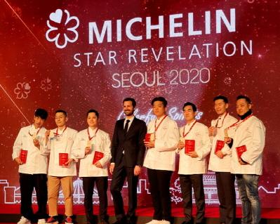 2 Stars chef_미쉐린 가이드 서울 2020