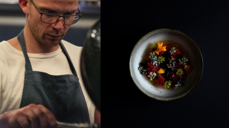 Innovative restaurant Inua, fronted by Noma-alumnus Thomas Frebel, enters the selection with two stars. (Photo courtesy of Inua/Instagram.)