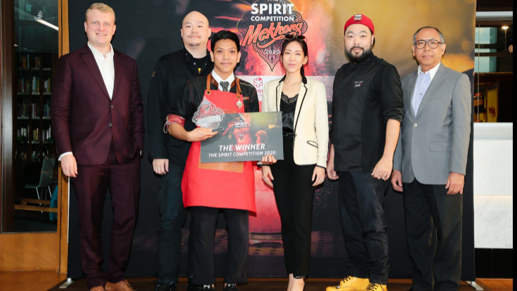 Mekhong panel judges with Chef Andy Yang of Table 38 (1 MICHELIN Star).