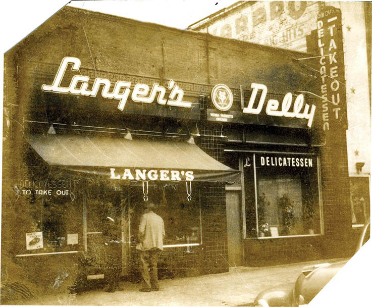 Albert J. Langer opened his 12-seat deli in 1947.