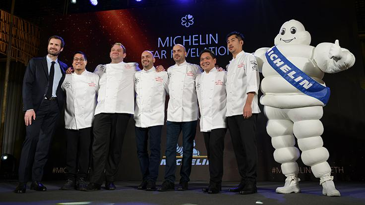 Le Normandie, Mezzaluna and Sühring welcome R-Haan and Sorn into the 2 MICHELIN Stars club.