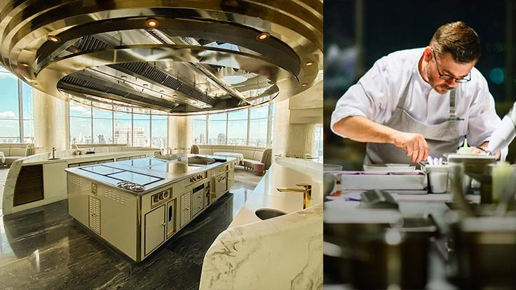 The one-of-a-kind kitchen where Chef Vincent Thierry unveils his cooking talent to craft some of the best creations in Thailand. Photo source: Chef's Table's Facebook page.