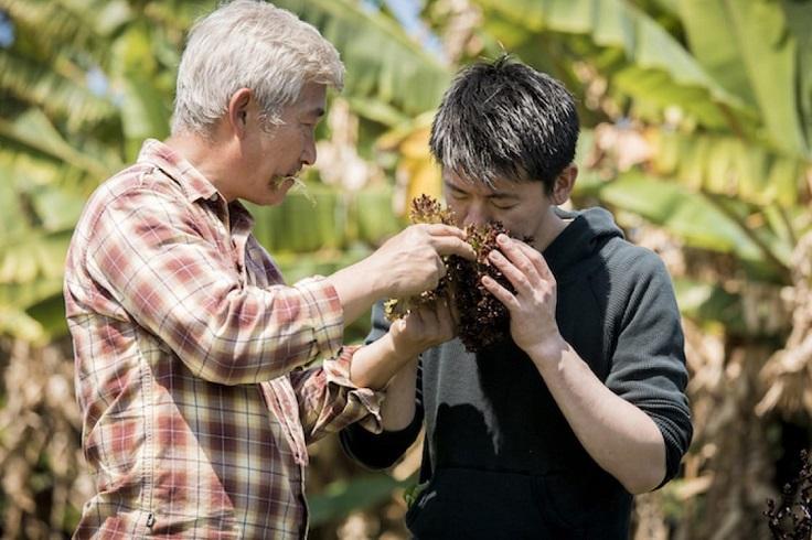 五年來,稗田良平積極到各地尋訪食材。