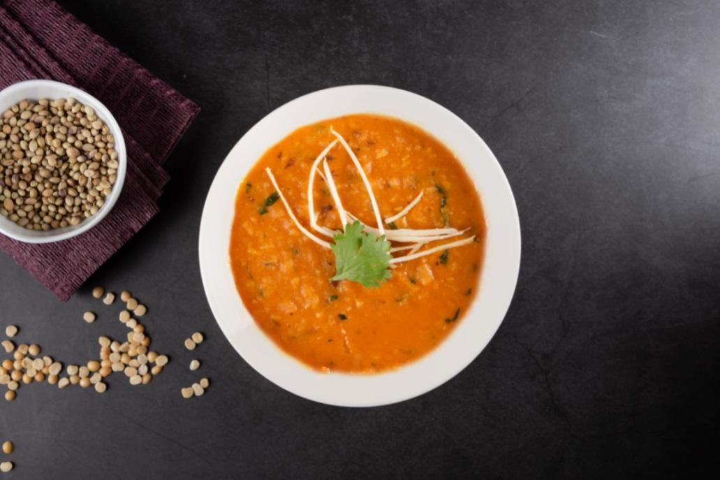 番紅花的綠豆仁咖哩。(圖片:番紅花印度美饌提供)