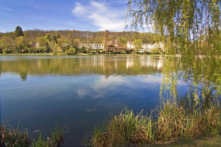 Les étangs de Ville-d'Avray, rendus célèbres par Corot © Delpixart / iStock