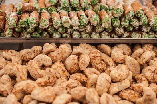 Les biscuits et les gâteaux siciliens comptent parmi les meilleurs © Neyya/iStock