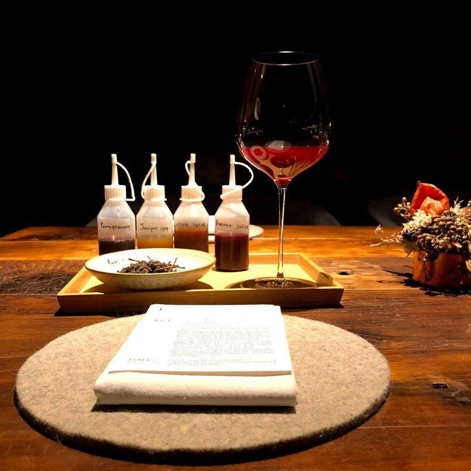 logy's non-alcholic beverages as are sophisticated and complex as a conventional wine pairing (Photo: logy)