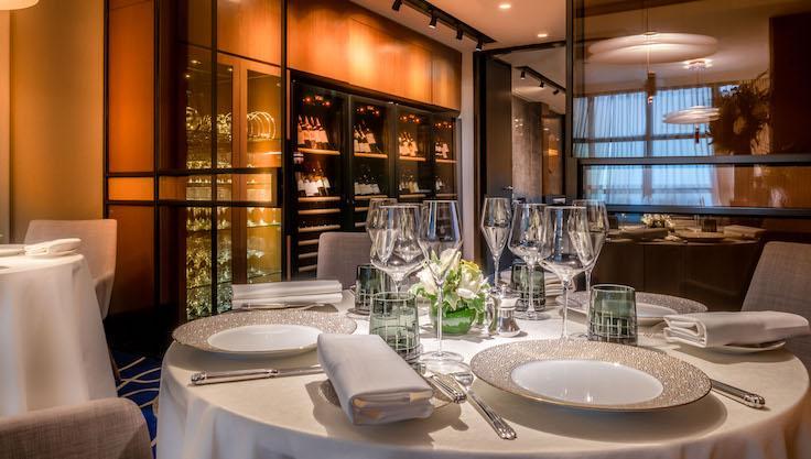 The interior of Vianney Massot (Pic: Vianney Massot Restaurant)