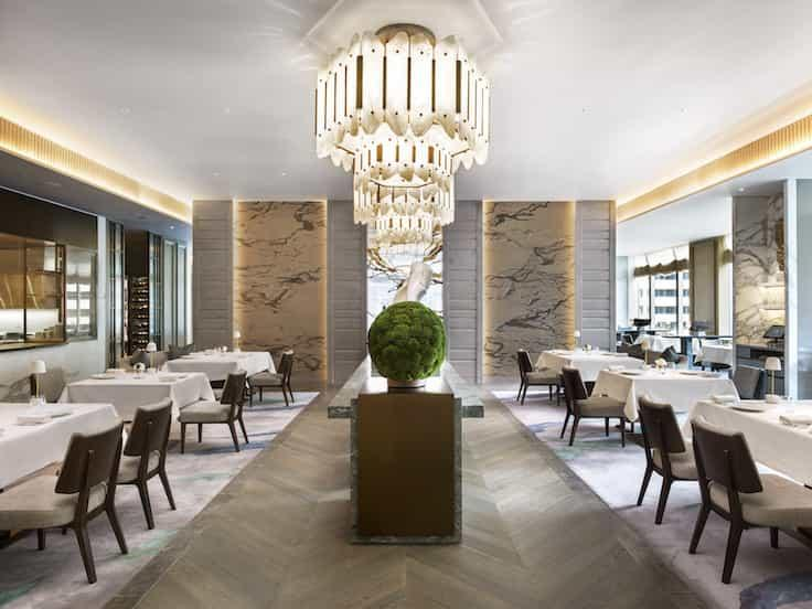 New openings under the watch of seasoned chefs, such as L'Envol at the new St. Regis Hong Kong by Olivier Elzer, deliver exceptional world-class dining experiences. (Photo courtesy of St. Regis Hong Kong.)