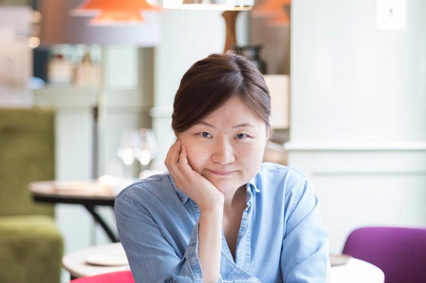 Chiho Kanzaki, du restaurant Virtus, à Paris ©Mana Kikuta