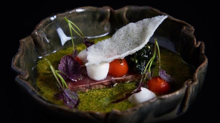 The cuisine at Lerouy weaves together the chef's classical French foundations and modern global influences (Pic: Lerouy)