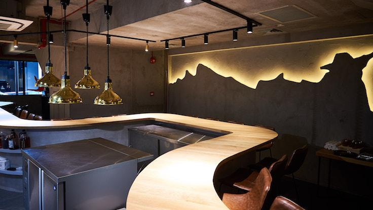Lerouy's intimate setting with just 26 seats set along a curved counter (Pic: Lerouy)