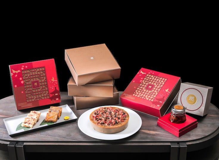 潤的賀年糕點及禮盒(圖片來源:潤)