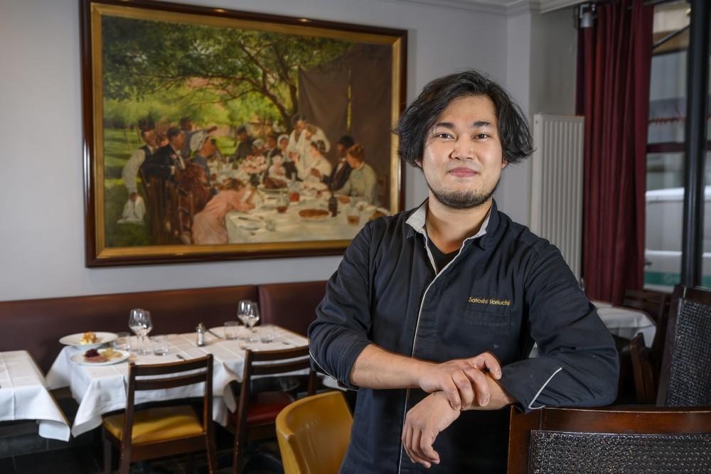 Satoshi Horiuchi, chef du Bon Accueil. ©Alain Buu/Michelin
