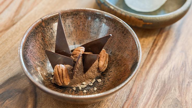 Un dessert des Reflets, à La-Roche-sur-Yon. ©Les Reflets