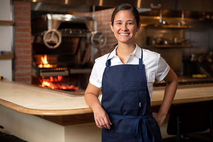Executive chef Suzanne Cupps. (Photo by Evan Sung.)